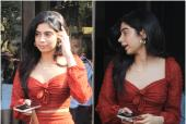 Khushi Kapoor Has A Day Out In Bandra