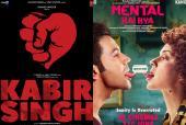 Shahid Kapoor's 'Kabir Singh' or Kangana Ranaut's 'Mental Hai Kya' – Which Film Will You Watch?