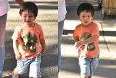 Taimur Ali Khan Is A Cute Tot In Orange! See Pics