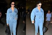 Deepika Padukone Is Winning the Double Denim Trend!