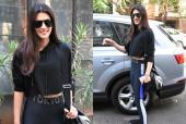 Kriti Sanon Is Athletic Chic in All-Black For the Gym!