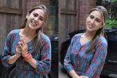 Sara Ali Khan Happily Greets Paps When Spotted Visiting a Friend