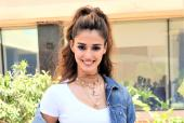 Disha Patani Looks Chic For Interview