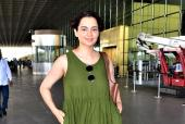 Kangana Ranaut Doesn't Need Only Red Carpets To Create Fashion Statements