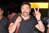 Sunny Deol Returns to Mumbai After Thumping Win in Gurdaspur