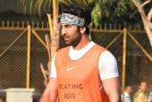 Ranbir Kapoor Takes Time Off to Play Football for a Cause