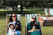 Taimur Ali Khan Enjoys Some Pool Time in London