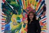 London Art Lovers, Attention: Check Out This British-Pakistani Artist's Spiritual Canvas