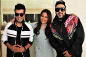 Sonakshi Sinha, Varun Sharma And Badshah At The Promotions Of Upcoming Film