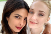 Priyanka Chopra and Sophie Turner's Photo Together Is Too Adorable to Miss