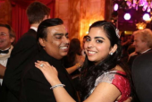 Mukesh Ambani's Heartfelt Speech and Dance with Isha Ambani at Her Engagement Party Shows Off Their Bond