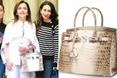 Nita Ambani's 18K Gold and Diamond Laced Hermes Bag: Here's Everything You Need to Know