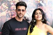 Hrithik Roshan And Mrunal Thakur For The Promotions Of 'Super 30'
