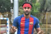 Ranbir Kapoor Plays Soccer In The Perfect Mumbai Weather