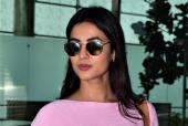 Sonal Chauhan Looks Chic In Pink At The Airport