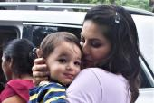Sunny Leone Was Spotted Out With Family