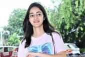 Ananya Panday's Message With Cute Pink Outfit