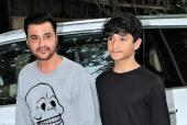 Sanjay Kapoor And Family Spotted At Brother, Anil Kapoor's House