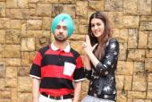 Kriti Sanon and Diljit Dosanjh Promote their Upcoming Romantic-Comedy Arjun Patiala