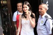 Ananya Panday Shyly Smiles For the Cameras After a Lunch Date With BFFs