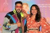 Sonakshi Sinha and Badshah Get Together for Song Launch from Khandaani Shafakhana