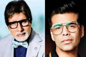 Karan Johar Reveals He Once Fainted While Working with Amitabh Bachchan