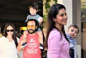 Kareena Kapoor and Saif Ali Khan Not Happy with Comparison of Taimur to Sunny Leone's Son