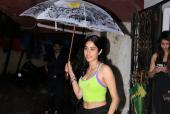 Janhvi Kapoor Braves the Monsoon Season For Her Pilates Workout!