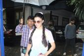 Jacqueline Fernandez is Preppy in Pigtails and Pastel Look!
