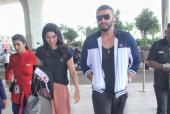 Arjun Kapoor and Khushi Kapoor Are a Chic Brother-Sister Duo at the Airport