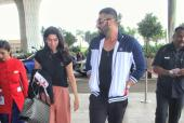 Arjun Kapoor and Khushi Kapoor Make a Style Statement at Mumbai airport
