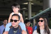 Saif Ali Khan and Kareena Kapoor Khan Return From London Holiday With Baby Taimur Ali Khan