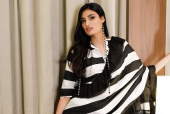 Athiya Shetty Sports Stripes in All the Right Directions