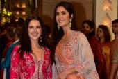 The Kaif Sisters Look Gorgeous At Ganesh Chaturti Celebrations