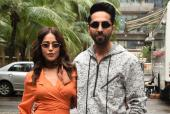 Ayushmann Khurrana And Nushrat Bharucha Are Fashionable As Ever For 'Dream Girl' Promotions