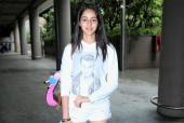 Ananya Panday Is a Fresh-Faced Beauty at the Airport