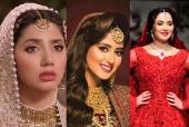 Mahira Khan, Sajal Ali, Hania Aamir and More: Best Bridal Looks of Lollywood