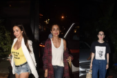 Malaika, Amrita and Karisma Step Out For Dinner Date in Style