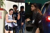 Sara Ali Khan Snapped Leaving Kartik Aaryan's Home in a Laidback Look