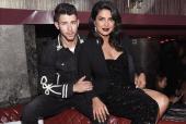 Priyanka Chopra, Nick Jonas Make Statement In Black