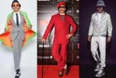 The Week That Saw Ranveer Singh In Three Quirky Looks