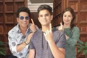 Sachin Tendulkar, Aamir Khan And More Celebs Cast Their Votes