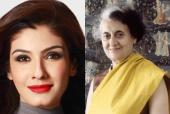 Raveena Tandon to Play Indira Gandhi?