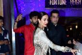 Malaika Arora, Amrita Arora make a statement in festive wear this Diwali