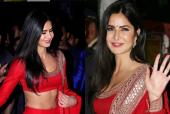 Katrina Kaif Makes a Ravishing Statement in Red this Diwali
