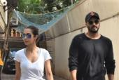 Malaika Arora And Arjun Kapoor Spotted Out