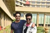 Sidharth Malhotra and Riteish Deshmukh At The Promotions Of Their Film
