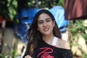 Sara Ali Khan Flows With The Tide As She Works Out With Her Trainer