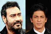 Shah Rukh Khan Wishes Ajay Devgn all the Best for Reaching 100th Film Milestone