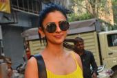 Arjun Kapoor And Rakul Preet Singh Spotted In Mumbai